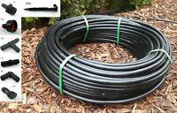 Tropfschlauch Bewässerung 16mm Tropfbewässerung Set Abstand 33cm 2,5L/h 100m