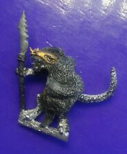 C19 Lizardman warrior metal citadel GW pre-slotta lizardmen spear & shield