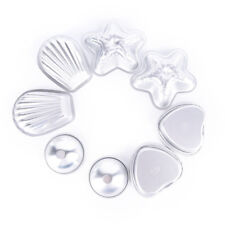 4set Aluminum Metal silver Bath Bomb Mold Mould For DIY Fizzles Homemade CraftWG