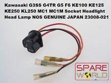 Kawasaki G3SS G4TR G5 F6 KE125 KE250 KL250 MC1 Socket Head Lamp 23008-021 NOS