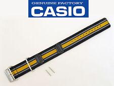 CASIO G-SHOCK GA-100MC Watch Band strap nylon webbing Cloth Black Orange Gray