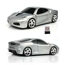 HOT Cordless 2.4Ghz Wireless car Mouse optical PC Laptop LED Mice + USB Receiver