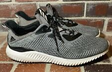 Adidas AlphaBounce Engineered Mesh 'Core Black' Low Top Sneakers - Men's Size 17