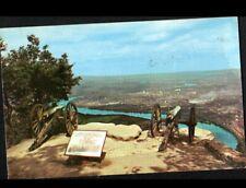 CHATTANOOGA / PLATEAU BELOW (U.S.A.) CANONS de 1863 à l'OBSERVATOIRE en 1954
