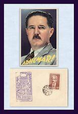 BRAZIL ADEHMAR PEREIRA DE BARROS MICROBIOLOGY CONFERENCE POSTMARK 23 AUGUST 1950