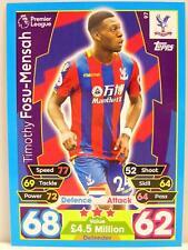 Match Attax 2017/18 Premier League - #097 Timothy Fosu-Mensah - Crystal Palace F