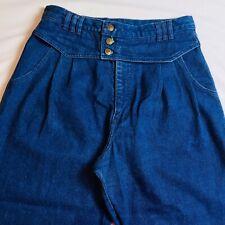 Wrangler Womens Jeans Vtg High Waist Mom Denim Made USA Sz 17 (31 X 30)