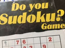 Do you Sudoku? New sealed game, 2 or more players.
