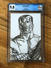New Mutants #13 (2020) CGC 9.8 Ross Timeless Sketch Colossus 1:100 Variant
