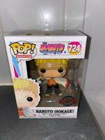 Funko Pop! Boruto Naruto (Hokage) #724 Vinyl Figure Exclusive + Pop Protector