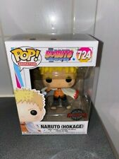 Funko Pop! Boruto Naruto (Hokage) #724 Vinyl Figure Exclusive + Pop Protector