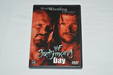 WWF JUDGMENT DAY DVD 2001 Rare OOP Made in Canada Wrestling Steve Austin