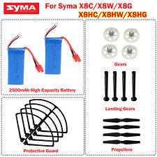 7.4V 2500mAh Battery+Gears+Crash Pack Set for Syma X8HG/X8HC/X8HW RC Quadcopter