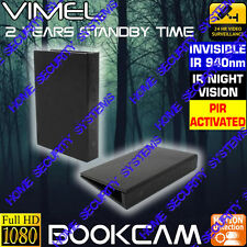 Room Camera Wireless Security Book Cam House Nanny Home DVR Office No SPY Hidden