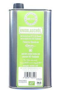 €24,95/Liter Bio-Knoblauchöl mit ECHTEM Knoblauch(aroma) und prämiertem Olivenöl