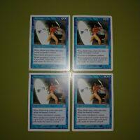 Abduction x4 - Sixth Edition 6th - Magic the Gathering MTG 4x Playset