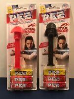 Lot of 2 Star Wars Pez Dispensers Darth Vader and Praetorian Guard New Jedi