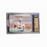 2000 Fleer Metal Tom Brady RC BGS 9.5  Possible PSA 10???  Tough Grade