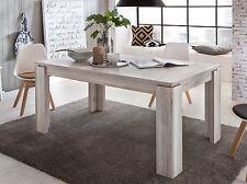 Esstisch Küchentisch Eiche Sand ausziehbar 90 x 160 200 Holztisch Ausziehtisch