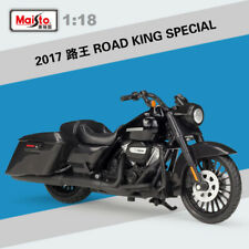 MAISTO 1:18 Alloy 2017 ROAD KING SPECIAL EDITION Motorcycle Harley Motorcycle