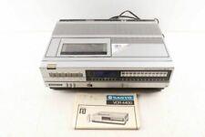 Vintage Sanyo Color Video Cassette Recorder Beta Vhs Tape Player Model 4400