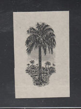Liberia # 167 Proof Pair Of Center in Black Flora Oil Palm NH But NG As Always