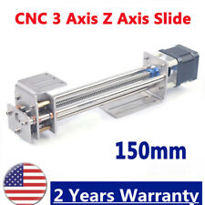 Ball Screw 3 Axis Zaxes Slide 150mm Linear Motion Guide Rail For Woodworking Cnc
