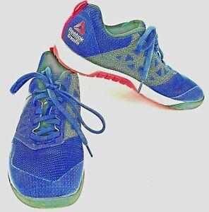 Reebok Shoes Nano 6 Womens 7 Navy Pink CrossFit UK 4.5 Metasplit Kevlar
