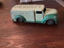 "Vintage Renwal Delivery Panel Truck Tin & Diecast Metal 6"""
