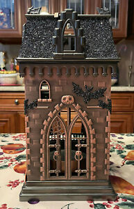 Bath & Body Works Halloween Haunted House Candle Holder