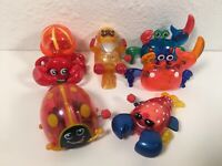 Wind Up Hans Toy Lot Crabs Lobster Beaver Lady Bug Works