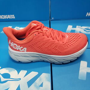 NEW Hoka One One CLIFTON 7 1110509/HCWH Red Running Shoes For Women