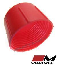 Motamec AN JIC -16 AN16 Tapa De Plástico Para Manguera De Combustible Cubierta de polvo rojo