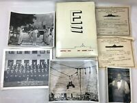 Vtg US Navy USS HORNET CVS-12 1960 WESTPAC CRUISE BOOK Log + Photos Certificates