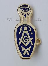 Masonic Ladies Slipper Lapel Pin Mason Freemason