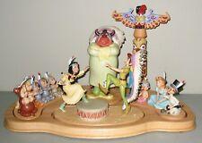 "Disney WDCC PETER PAN Signature Series ""FIRESIDE CELEBRATION"" w/Boxes Base & COA"