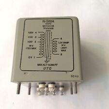 Nos Nib Utc N588A Filament Power Transformer 6.3V 5A for Tube Amps
