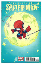Superior Spider-Man #1 Young Baby Variant Near Mint