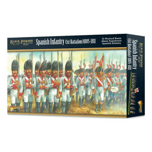 Warlord Games Black Powder Spanish Infantry (1st Battalion)