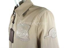 NEW LOUIS VUITTON MEN VvV PATCH GASTON JACKET COAT BEIGE BLOUSON COAT 52 / XL