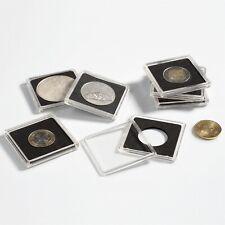 25mm 2x2 Snaplocks Lighthouse Quadrum Coin Holders 10 Capsules For Gold Maple