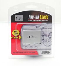 "Delkin E-Film Du1.8""-m Pop-Up Screen Shade+camera/Watch LCD Screen 1.8"" Protect"
