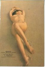 1950s Pin Up Nude by Peter Mehlich 5 x 7 1/2 inches