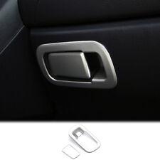For Honda Civic 2016 2017 2018 Chrome Interior Glove Box Door Handle Cover Trim