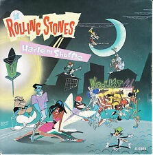 """ROLLING STONES  Harlem Shuffle PICTURE SLEEVE 7"""" 45 rpm record + jukebox strip"""