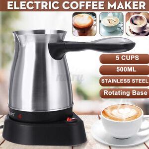 SOKANY Electric Coffee Maker Pot Milk Greek Turkish Espresso Percolator 600W