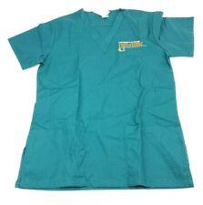 Fashion Seal Women's XS Green Nurse Scrub University Of Miami School of Nursing