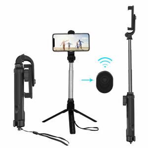 Mobile Phone Tripod + Bluetooth + Extendable Remote Shutter Selfie Stick Monopod