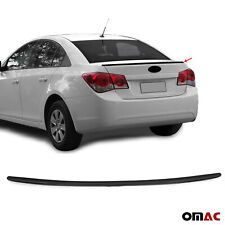 For Chevrolet Cruze Sedan 2011 2021 Rear Trunk Lip Wing Spoiler Black Style Fits Cruze