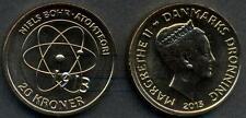 DENMARK 20 Kroner 2013 Niels Bohr UNC